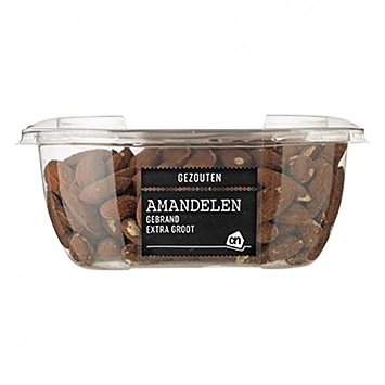 AH Almonds roasted extra large salted 190g