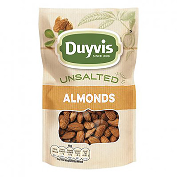 Duyvis Unsalted almonds 125g