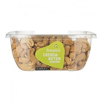 AH Biologisch cashewnoten gebrand gezouten 160g