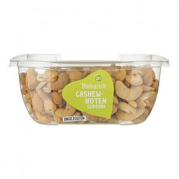 AH Biologisch cashewnoten gebrand ongezouten 160g