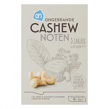 AH Ongebrande cashewnoten 3x40g