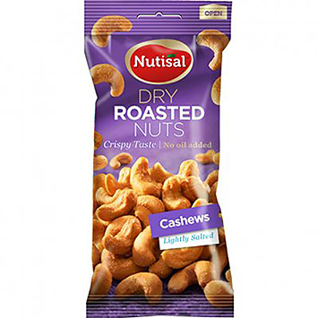 Nutisal Dry roasted nuts cashews 60g