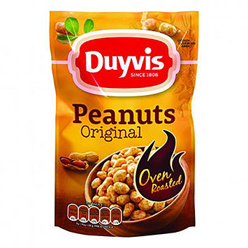 Duyvis Peanuts original oven roasted 225g