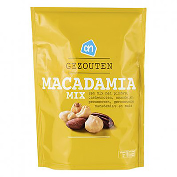 AH Salted macadamia mix 200g