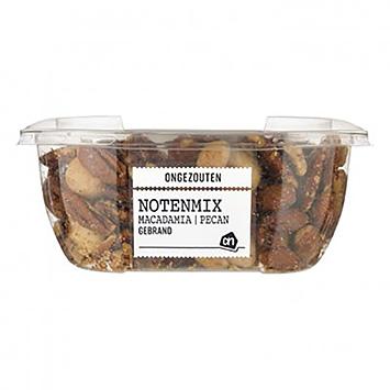 AH Notenmix macadamia pecan gebrand ongezouten 150g
