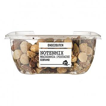 AH Notenmix macadamia pistache gebrand ongezouten 150g