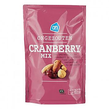 AH Ongezouten cranberrymix 200g