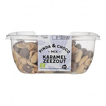 AH Pinda en choco mix karamel zeezout 170g