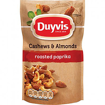 Duyvis Cashews and Almonds roasted bell pepper 125g