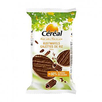 Céréal Reiswaffeln Schokolade 95g