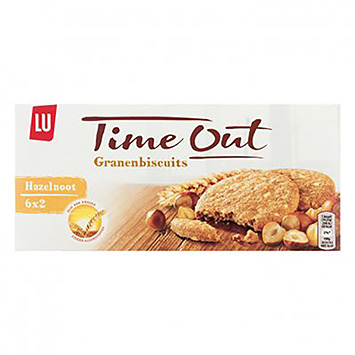 LU Time out granenbiscuits hazelnoot 171g