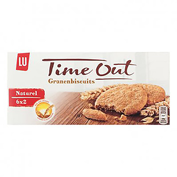 LU Time out biscuits aux céréales naturelles 171g