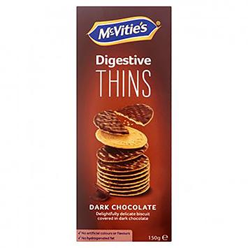 McVitie's Digestive effine le chocolat noir 150g