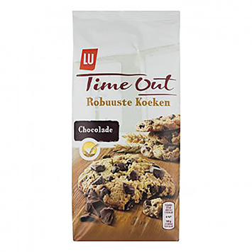LU Time out robuuste koeken chocolade 184g