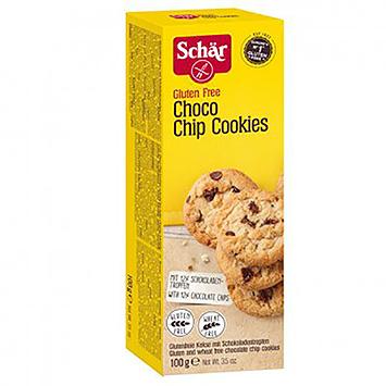 Schär Choco chip cookies 100g