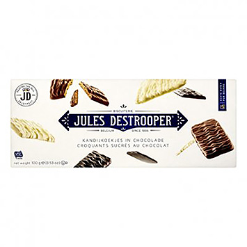 Jules Destrooper Candy cookies in chocolate 100g