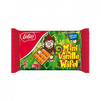 Lotus Mini vanille wafels 224g