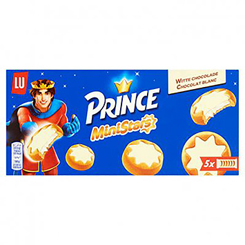 Prince Ministars witte chocolade 187g