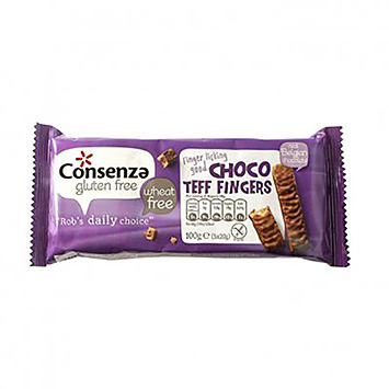 Consenza Choco Teff Doigts 100g