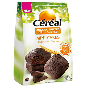 Céréal Mini chocolate cakes 196g