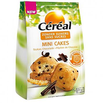 Céréal Mini cakes pieces of chocolate 196g