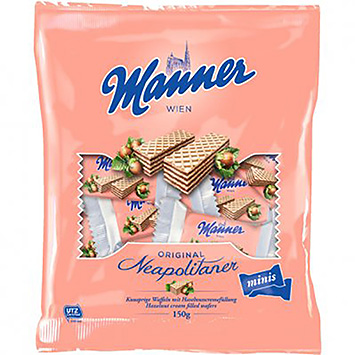 Manner Neapolitaner Minis 150g