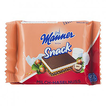 Manière Snack milch haselnuss 125g
