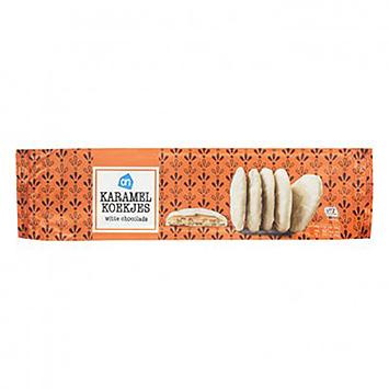 AH Caramel cookies hvid chokolade 160g