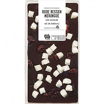 AH Rode bessen meringue pure chocolade 150g