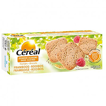 Céréal Biscuit raspberry rooibos 150g