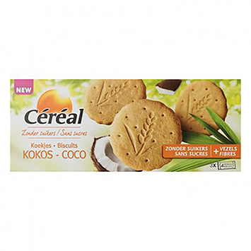 Céréal biscuits à la noix de coco 132g