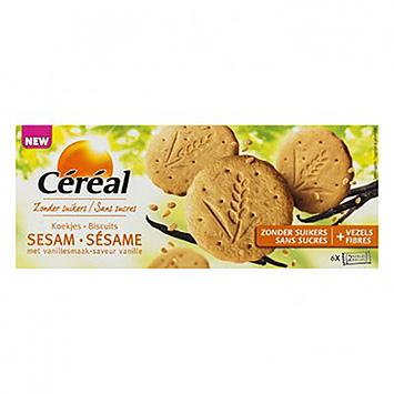 Céréal Biscuit Sésame à la Vanille 132g