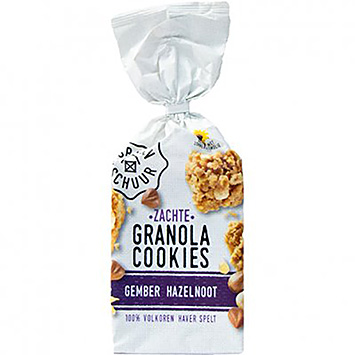 The granary Soft granola cookies ginger hazelnut 160g