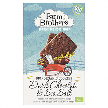 Farm brothers Dark chocolate and sea salt 150g