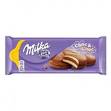 Milka Choc and choc 175g