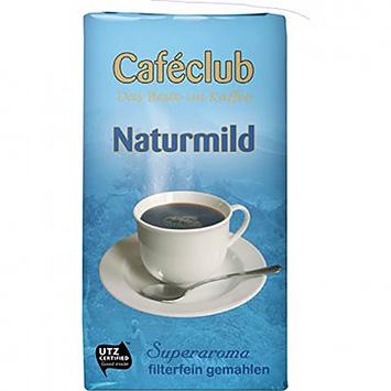 Caféclub Naturmild filterfein gemahlen 500g