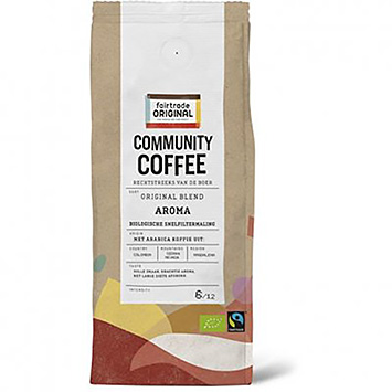 Fairtrade original Community kaffe organisk hurtigfilterslib 250g