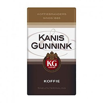Kanis and Gunnink Coffee quick filter grind 500g