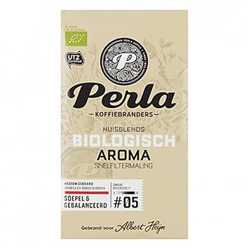 Perla Biologisch aroma snelfiltermaling 250g