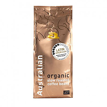 Australian Latin American organic slow roasted coffee beans 500g