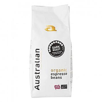 Australian Dark Roast Bio Espressobohnen 500g
