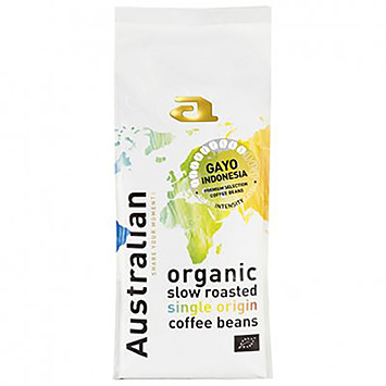 Australian Gavo Indonesia Organic slow roasted single origin coffee beans 500g