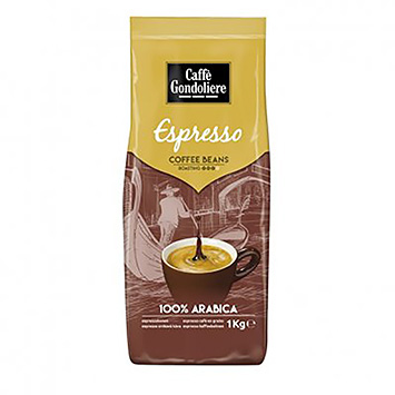 Caffè gondoliere Espresso kaffebønner 1000g