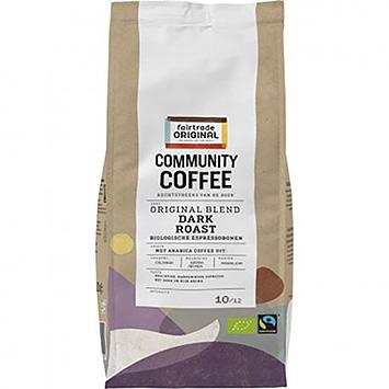 Fairtrade original Community coffee dark roasts organic espresso beans 500g
