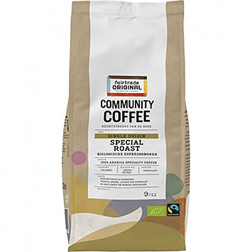 Fairtrade original Community coffee special roast 500g