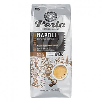 Perla Espressimo Napoli espressobonen 500g