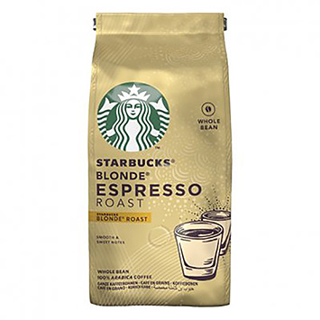Starbucks Blonde espresso roasts 200g