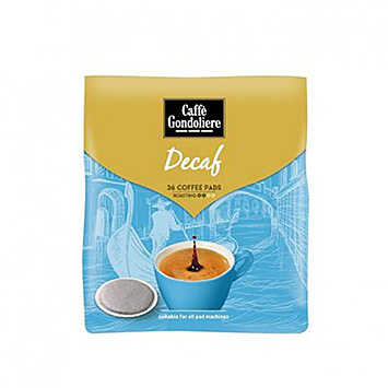 Caffè gondoliere Decaf 36 pads 250g