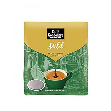 Caffè gondoliere Mild 36 coffee pods 250g