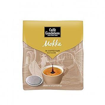 Caffè gondoliere Mokka 36 coffee pads 250g